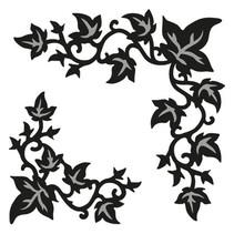 Marianne Design, stansning og prægning skabelon Craftables - Ivy hjørne