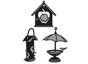 Marianne Design Marianne Diseño, estampación y cliché de estampado, Craftables - Birdhouse de Tiny