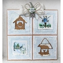 Marianne Design, Stanz- und Prägeschablone, Craftables - Tiny's Birdhouse