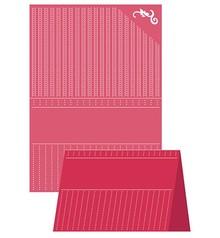 embossing Präge Folder A4 Embossing Folder, Craft Well - Dotted Elegance