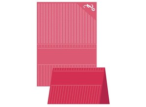 embossing Präge Folder A4 Embossing Folder, Craft Well - Prikket Elegance