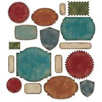 ThinLits - Labels, 17 Schablonen