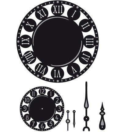 orologio stencil