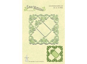 Leane Creatief - Lea'bilities Lea'bilities, embossing and Schneideschablon, frame square tip