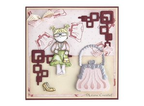 Leane Creatief - Lea'bilities Lea'bilities, embossing and cutting template, handbag
