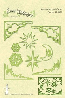 Leane Creatief - Lea'bilities Lea'bilities, embossing and cutting mat, corner and landscape