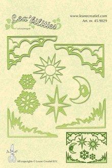 Leane Creatief - Lea'bilities Lea'bilities, goffratura e tappetino di taglio, territorio e paesaggio