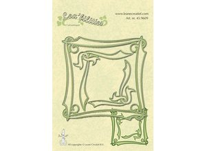 Leane Creatief - Lea'bilities Lea'bilities, embossing and cutting template, Elegant Frame