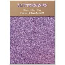 Papel iridiscente brillo, formato A4, 150 g / m², lila