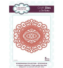 Creative Expressions Punch - and embossing stencil, Creative Expressions, Corner, Border & Tag