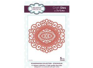 Creative Expressions Punch - and embossing stencil, Creative Expressions, Corner, Border & Day