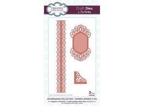 Creative Expressions Punching - and embossing stencil, Creative Expressions, Corner, Border & Day