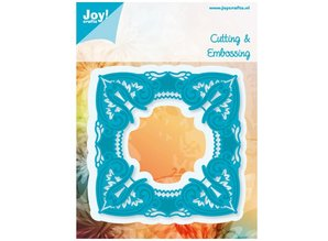 Joy!Crafts und JM Creation Stempling og prægning stencil, Craftables -en storslåede omgivelser