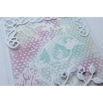 Glace paper, A4 2x8 designs