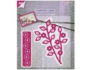 Marianne Design Marianne Design, stamping and embossing stencil, branch with flowers