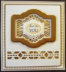 Creative Expressions This Craft - Multi punching and embossing template
