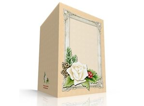 KARTEN und Zubehör / Cards Craft Kit for 3 Decoupage Card + 3 envelopes