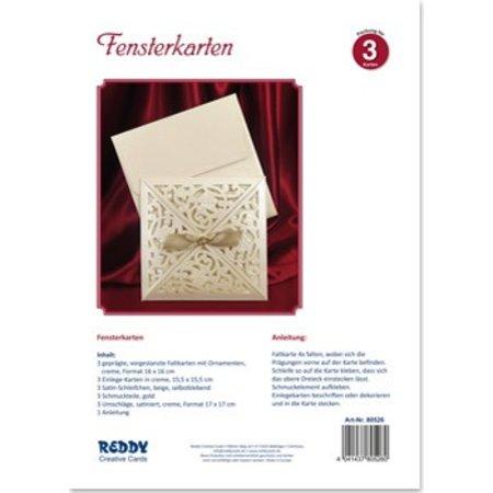 BASTELSETS / CRAFT KITS: Craft Kit til 3 Exclusive Window Card