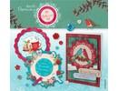 KARTEN und Zubehör / Cards Kit Craft: juego de matrices tarjeta de hojas sueltas 3D - Bellissima Navidad