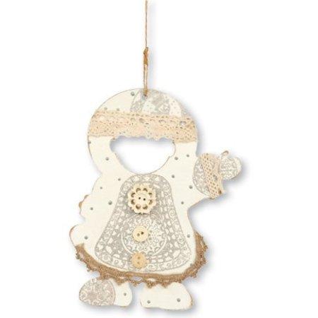 Objekten zum Dekorieren / objects for decorating 3 adornos MDF esquimales