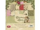Designer Papier Scrapbooking: 30,5 x 30,5 cm Papier Christmas Story paper block, 30.5 x 30.5 cm