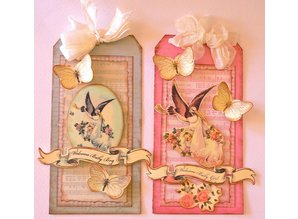 Prima Marketing und Petaloo Chipboard Collection, for boys or girls