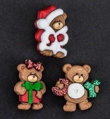 Embellishments / Verzierungen Dress it up, decorazioni, fascini, aggiungere-zioni - Bears Natale