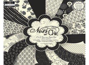 "DESIGNER BLÖCKE  / DESIGNER PAPER Designers block ""Noir et Chicc"" First Edition Paper"