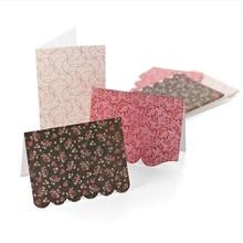 KARTEN und Zubehör / Cards Designer kort + konvolutter fra Basic Grey