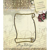 Amy design, die cutting and embossing stencil