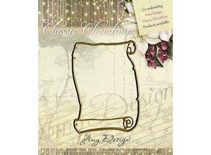 Amy Design Design Amy, stansning og prægning stencil