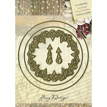 Amy design, die cutting and embossing stencil - Classic Clock