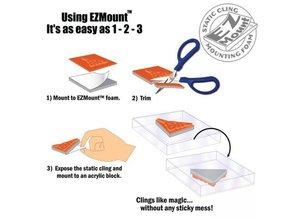 EZ mount, 21.6 x 30.4 cm