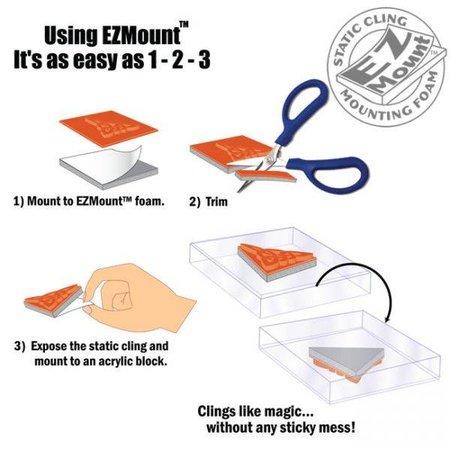 EZ mount, 21,6 x 30,4 cm