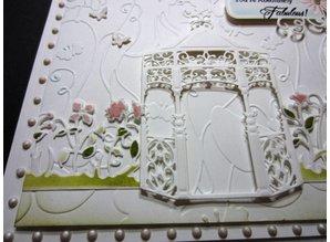 Spellbinders und Rayher Corte y estampación stencils