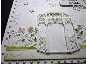 Spellbinders und Rayher Cutting and embossing stencils