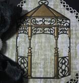 Spellbinders und Rayher Taglio e goffratura stencil