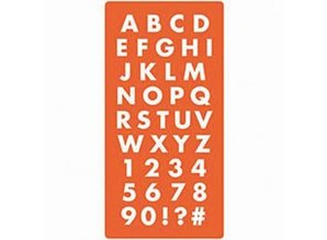 ModPodge Mod Podge, silicone mold of letters and numbers