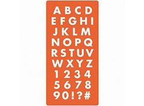 ModPodge Mod Podge, silikone forme af bogstaver og tal