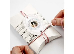 Embellishments / Verzierungen Self-adhesive Sticker Scene with a matte finish - Vivi Gade Design