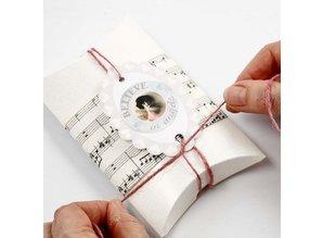 Dekoration Schachtel Gestalten / Boxe ... Carton, LxWxH 10x8x2 cm, 10 pc