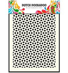 Dutch DooBaDoo Hollandsk kunst Mask - Mask Abstrakt, A5