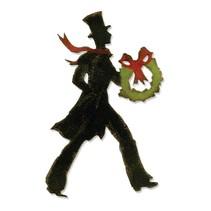 Sizzix Skæreskabelon, opskæring mat, Vicorianische jul