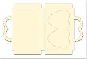 bastelset f r 3 geschenkboxe in hezform creme format 25x15cm kasse ist deaktiviert wir sind. Black Bedroom Furniture Sets. Home Design Ideas