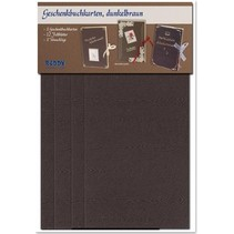 Materialset für 3 Geschenkbuchkarten