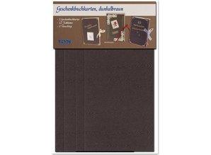 KARTEN und Zubehör / Cards Materialset für 3 Geschenkbuchkarten