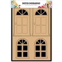 MDF Nederlandse DooBaDoo, deuren en ramen