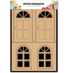Objekten zum Dekorieren / objects for decorating MDF holandesa DooBaDoo, puerta y ventana