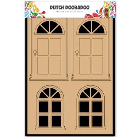 Objekten zum Dekorieren / objects for decorating MDF Dutch DooBaDoo, Door and Window