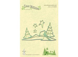 Leane Creatief - Lea'bilities Lea'bilities, embossing and cutting mat, home and landscape